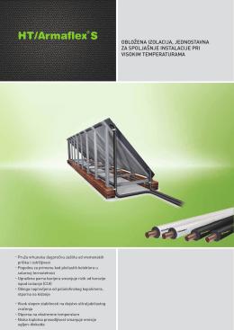 obložena izolacija, jednostavna za spoljašnje instalacije
