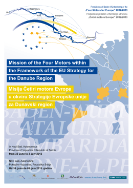 Mission of the Four Motors within the Framework of the EU Strategy