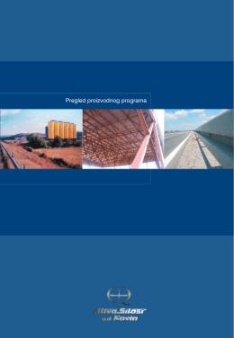 Pregled proizvodnog programa - Utva