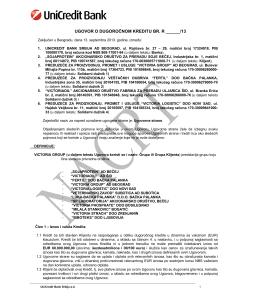 ugovor o dugoročnom kreditu br. r ______/13