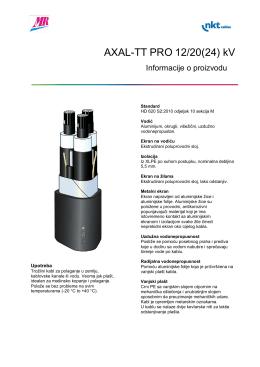 AXAL-TT PRO 12/20(24) kV