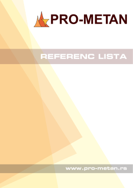 Preuzmite referenc listu - Pro