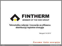 Fintherm KWH Pipe Presentation