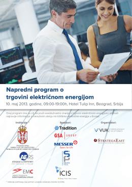 Event info in Serbian (informacije o događaju na