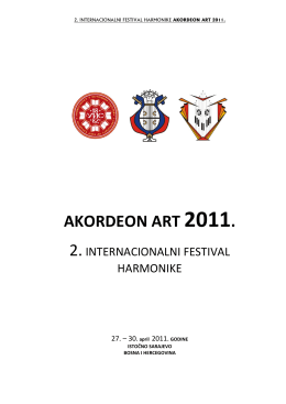 Knjižica - Akordeon Art
