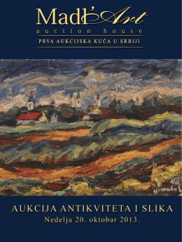 32. Aukcija antikviteta i slika