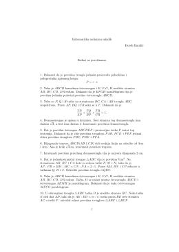Matematicka radionica mladih