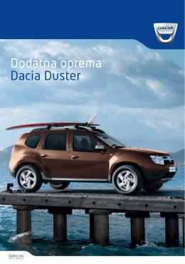 Katalog dodatne opreme Duster (PDF)