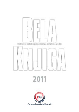 Bela knjiga 2011