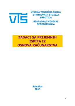 osnova računarstva - www .vts.su.ac.rs