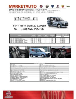 FIAT NEW DOBLO COMBI
