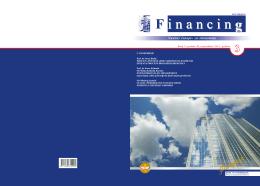 "Naučni časopis ""Financing"" - Broj 3 Godina 2 / septembar 2011."
