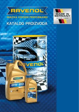 RAVENOL PDF katalog