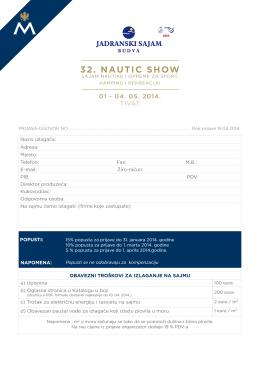 32. NAUTIC SHOW
