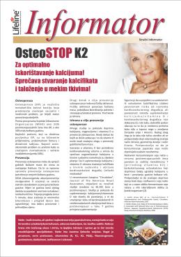 Informator OsteoSTOP K2
