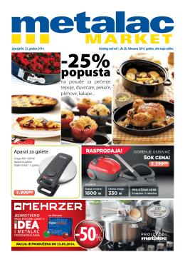 popusta - Metalac Market