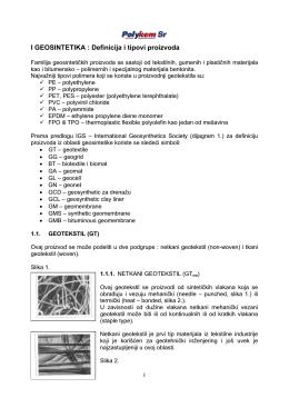Katalog geosintetika