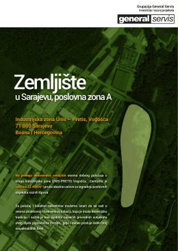 u Sarajevu, poslovna zona A