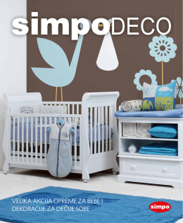 velika akcija opreme za bebe i dekoracije za dečije sobe