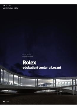 Ana D`Apuzzo - 2010junedansrolex - Studio d`arte e architettura Ana