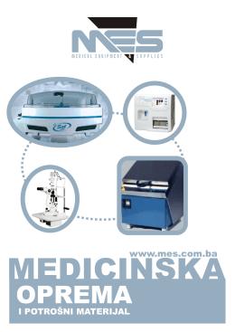 katalog MES - MES Zenica