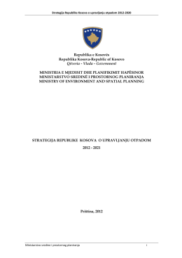 Republika e Kosovës Republika Kosova-Republic of