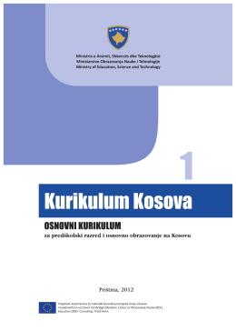 kurikulum kosova osnovni kurikulum za predškolski razred i