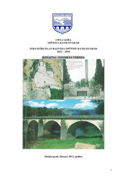 Danilovgrad - Zajednica Opština Crne Gore
