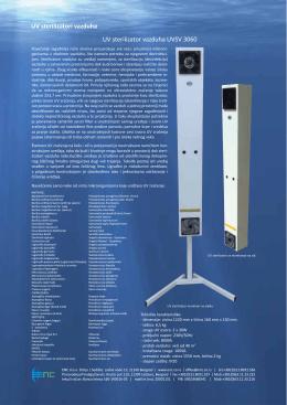 UV sterilizatori vazduha UV sterilizator vazduha UVSV 3060