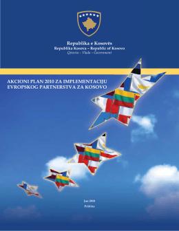 Akcioni plan za implementaciju evropskog partnerstva 2010 [ srb ]