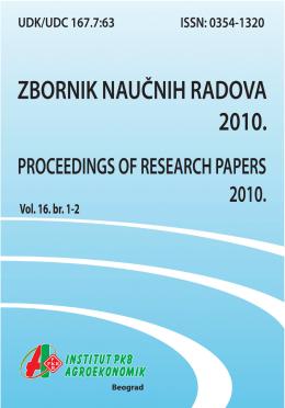 Zbornik naučnih radova 2010 vol_16_1-2