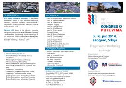 treće saopštenje kongresa [ pdf ]