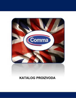 comma ulja - Tehnocontrol DOO