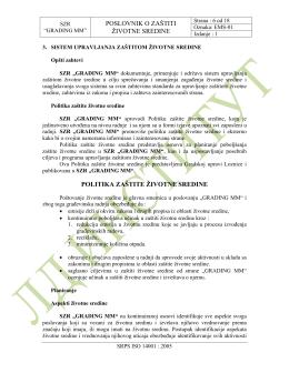 ST 8.3. 001. ISO 14001 građevinske firme