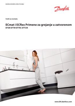 ECmat i ECflex Primene za grejanje u zatvorenom