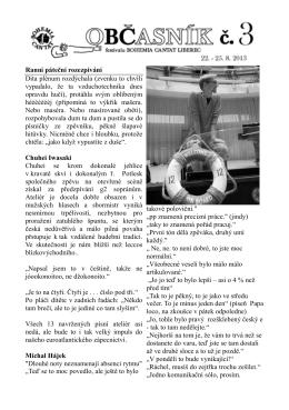 3 - Bohemia Cantat