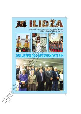 Bilten 124 - Općina Ilidža