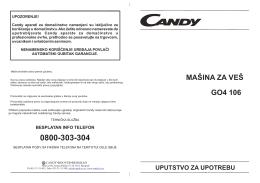 Mašiina za veš GO4 106