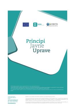 Principi javne uprave (SIGMA)
