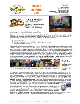 ovdje kompletan PDF Finalnog izvještaja za KF8 2011.