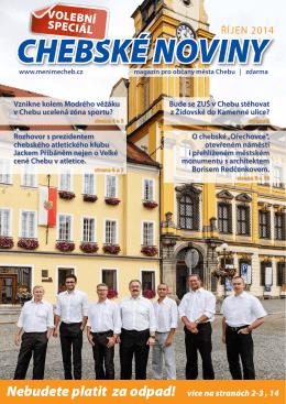 Chebské noviny 2014