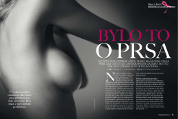 Žena a život - AVON proti rakovině prsu