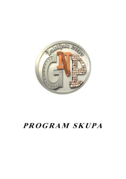 Program skupa GNP 2012