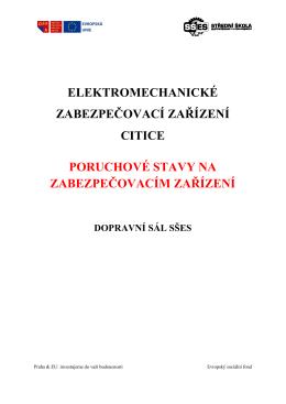 Poruchy podle předpisu Z1