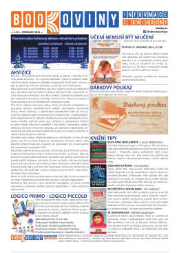 č. 13 – prosinec 2014 - Městská knihovna ve Svitavách