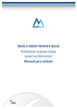 formát PDF - Mount Blue