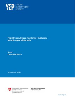 Monitoring i evaluacija aktivnih mjera tržišta rada