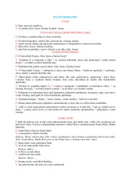 Pallotinské modlitby (pdf)