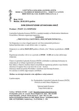 ovdje - Liječnička/Ljekarska Komora HNŽ/K
