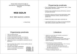 WEB DIZAJN - Visoka ICT škola